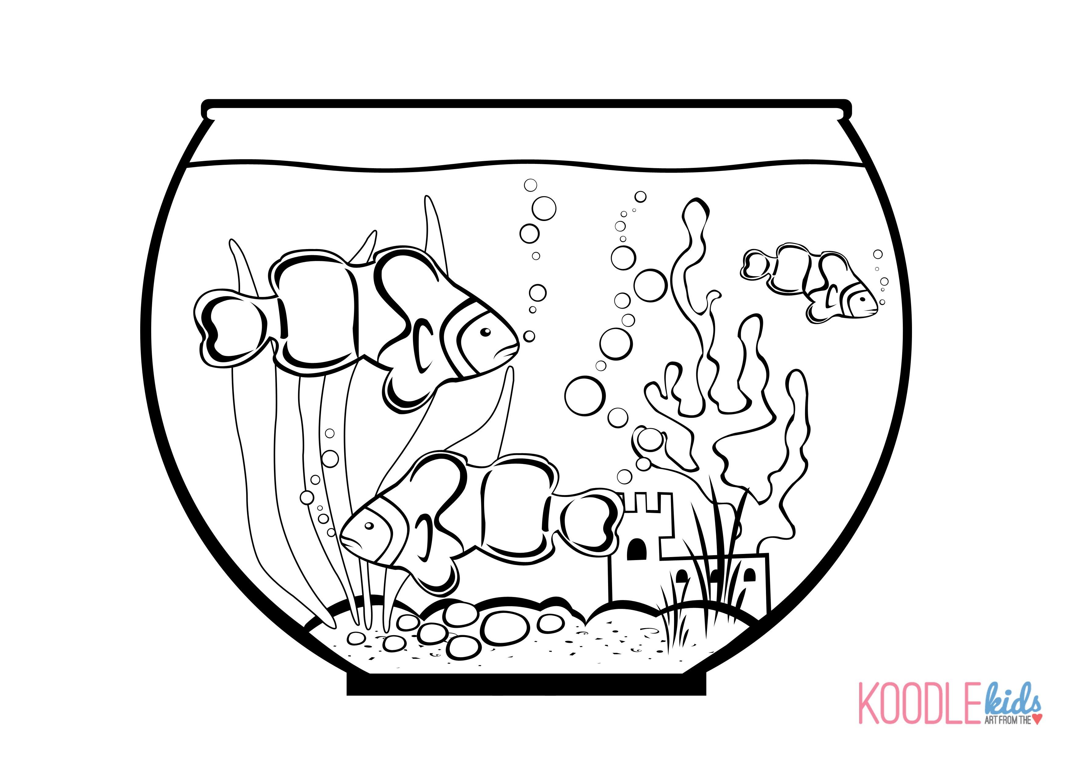 Fishbowl Drawing at GetDrawings | Free download