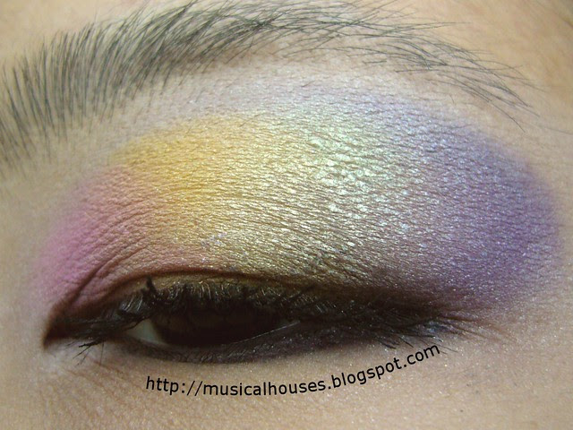 valentines day candy hearts eye look 2