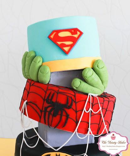 Superohero Cake-3