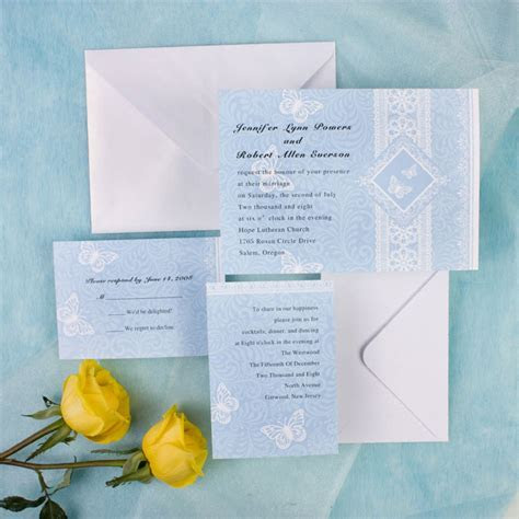 The best wedding invitation blog: Cheap scroll wedding