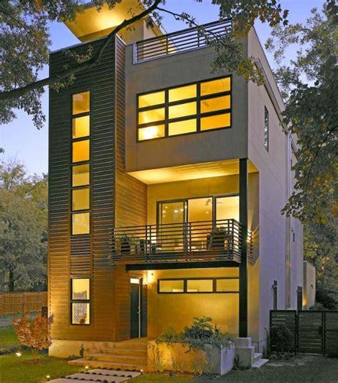 small lot area modern homes peg pinterest modern