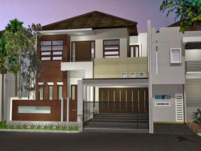 10 Desain Rumah 2 Lantai Modern Elegan, Unik!
