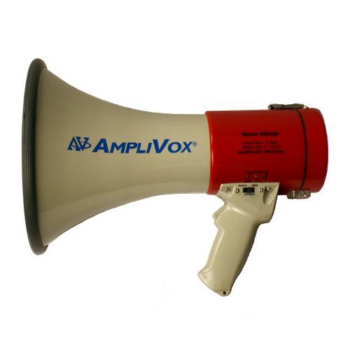 rechargeable bullhorn