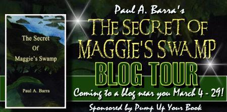 The Secret of Maggie's Swamp banner