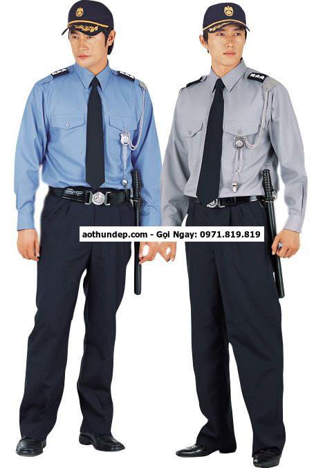 bảng giá đồng phục bảo vệ