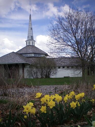 Monastery in April