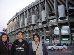 Stadium Santiago Bernabéu Real Madrid, Madrid, Spain