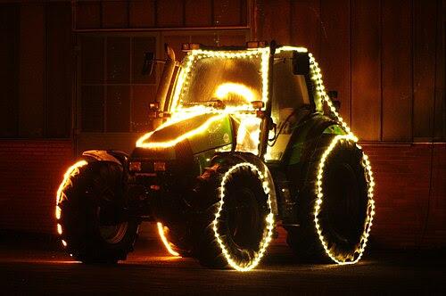 Meldorf xmas tractor