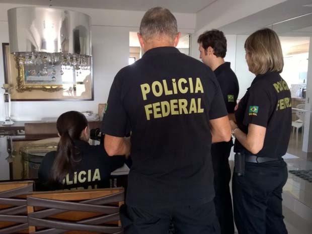 Polícia Federal deflagrou nesta quinta-feira (26) a operação 'Salt II' (Foto: Divulgação/Polícia Federal)