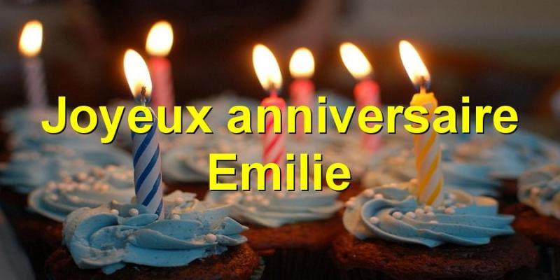 Joyeux Anniversaire Emilie 19 Ans 14 Octobre 2019 La Vie