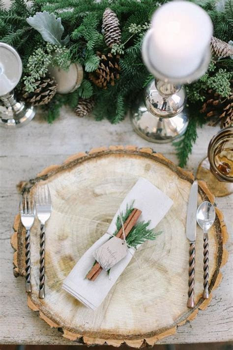 30 Spectacular Winter Wedding Table Setting Ideas   Deer