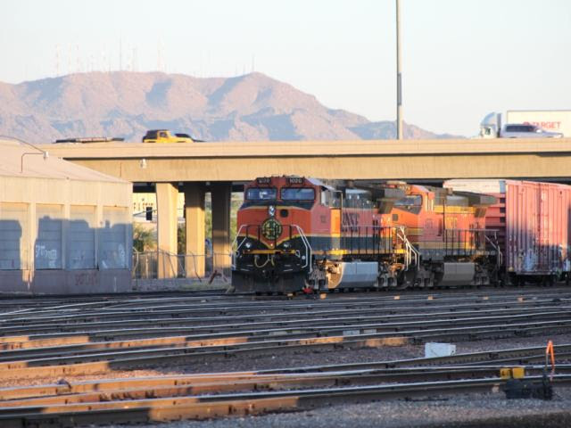 BNSF 1020 in Phoenix, Arizona