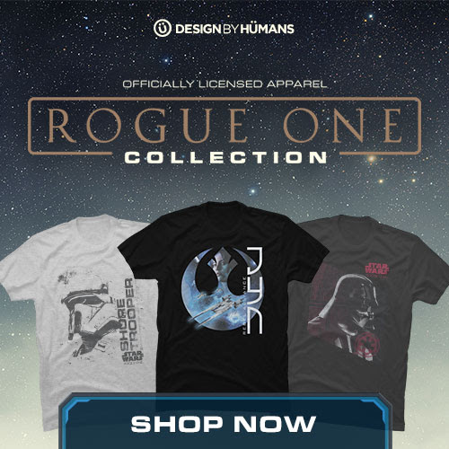 Star Wars Rogue One apparel at DesignByHumans.com