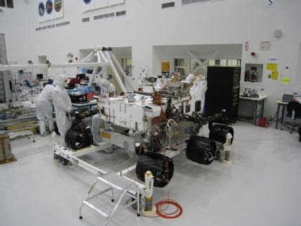 A Rover Gets Its Wheels