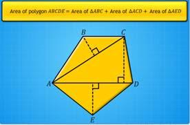 polygon, area of a polygon
