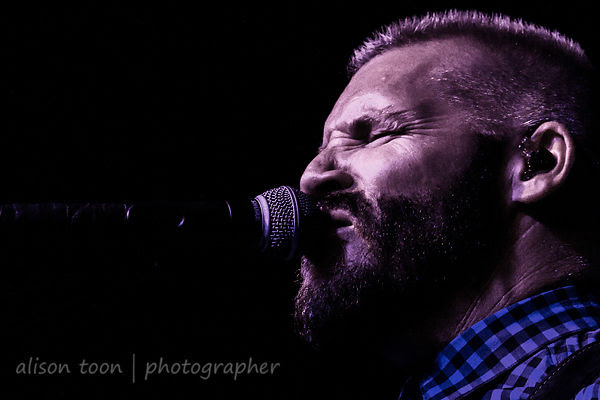 Nathan Giguiere, vocals, Some Fear None, launch of