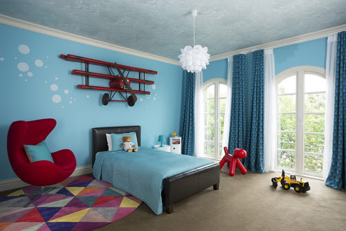 Interior design Inspiration for Boys Room | Live Love in the Home