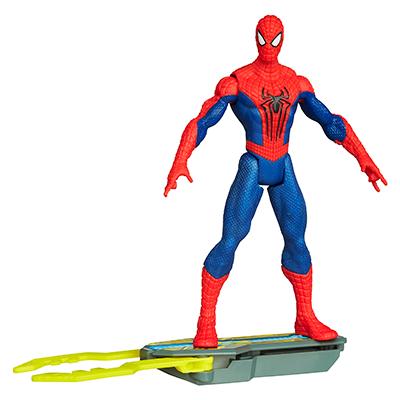 Marvel Amazing Spider-Man 2 Spider Strike Blitz Board Spider-Man Figure