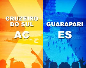Cruzeiro do Sul x Guarapari (Foto: Domingão do Faustão / TV Globo)