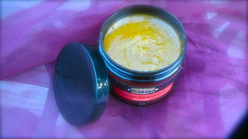 ORANGE GRAPEFRUIT Body Scrub 9 oz. (Organic)