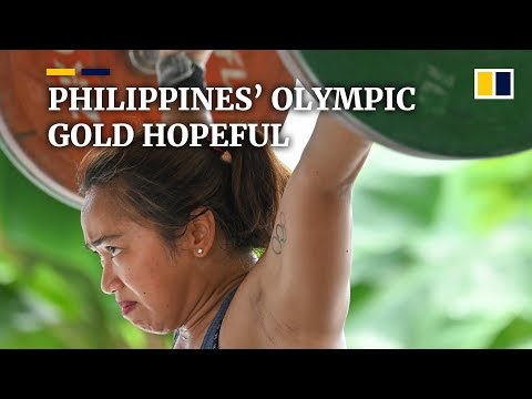 Female weightlifter from the Philippines eyes country's first Olympic go...