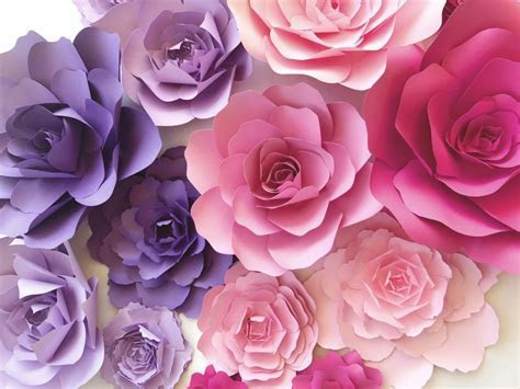 PaperFlora   Paper Flower Walls, backdrops and home decor