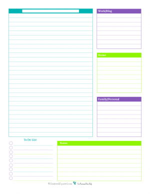 no times daily planner 300x388