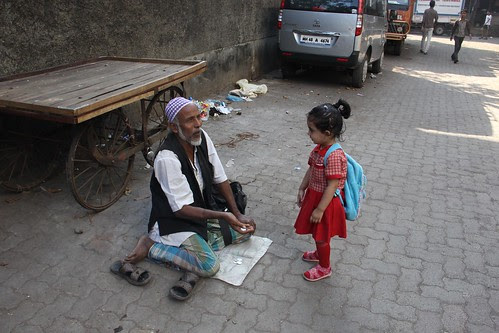 So What Are You Going To Learn In School Nerjis ,,,Asks The Beggar Uncle by firoze shakir photographerno1