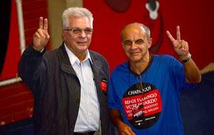 Márcio Braga eleição Flamengo (Foto: Nelson Veiga / Globoesporte.com)