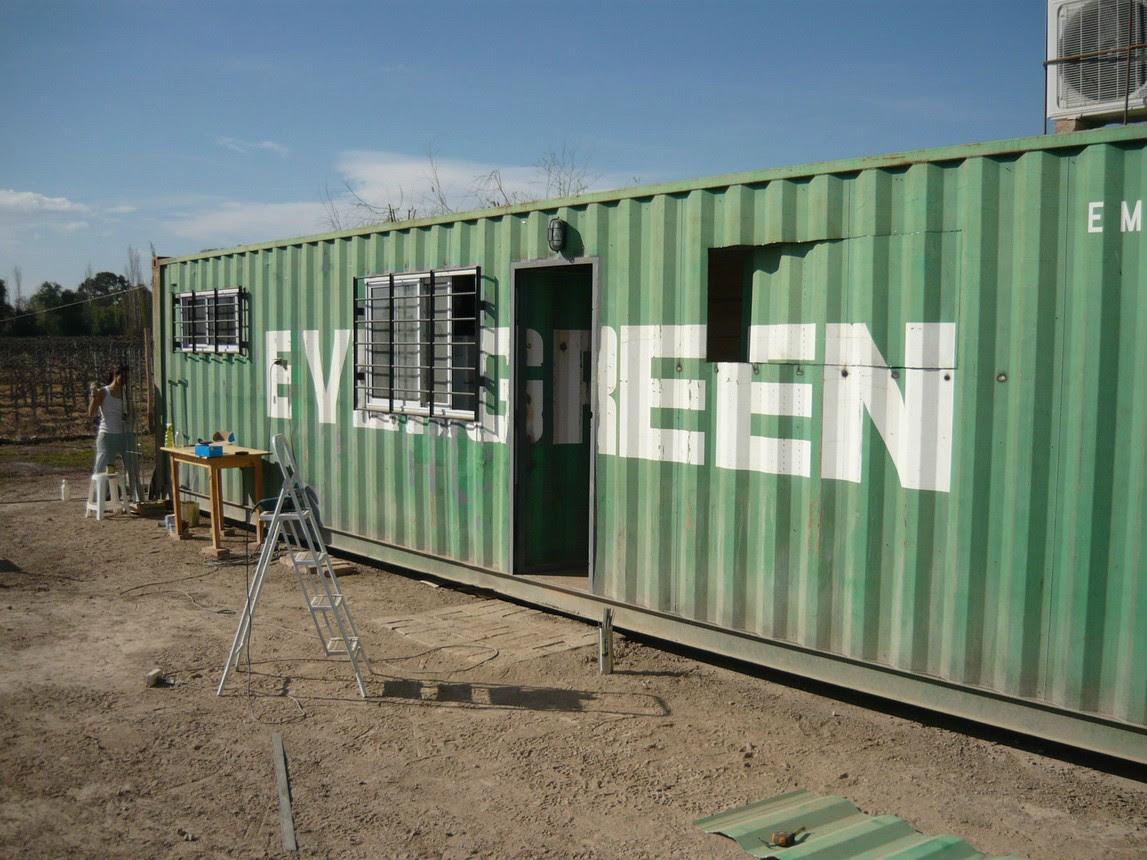 Casas de madera prefabricadas casas con containers precios for Casa contenedor precio