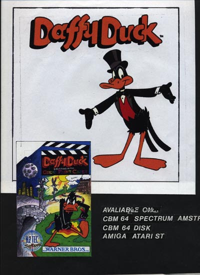 Daffy Cover