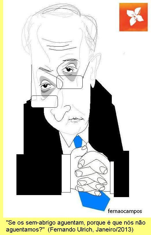 Cartoon de Fernão Campos, em 'O sítio dos desenhos'.