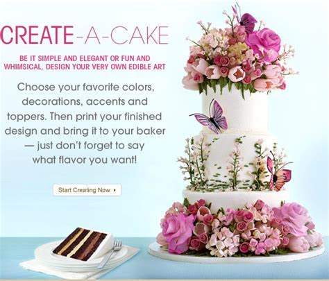 Ontario Bakery: Fun tools to help you design your wedding cake
