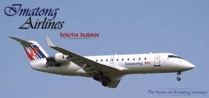 Rendering of Imatong's first CRJ100