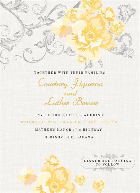 Vintage Rose Wedding Cards (114110302)   Wedding