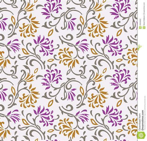 Seamless Floral Background wallpaper pattern Stock