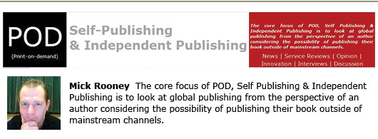 POD, Self Publishing and Indie Publishing
