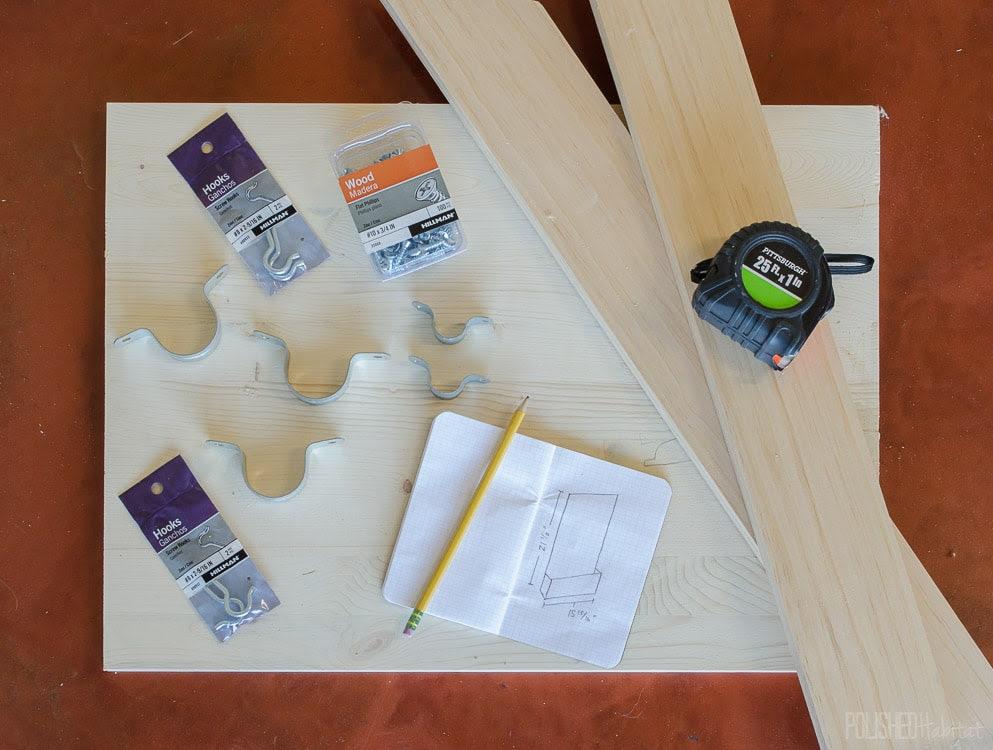 DIY Paint Brush Holder {Garage Organization) - Polished ...