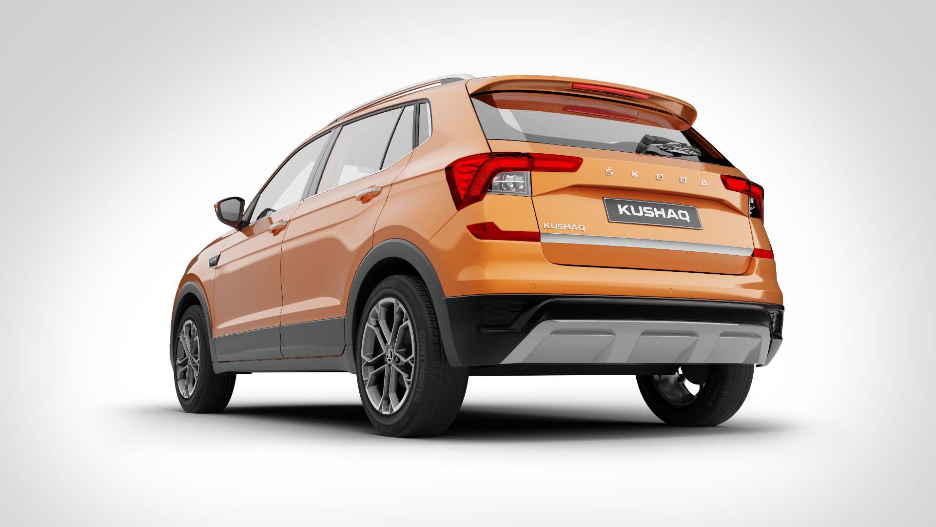 Ground clearance for the Skoda Kushaq is pegged at 188 mm. Image: Skoda