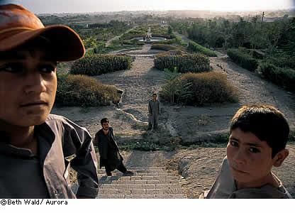 Babur's Garden in Kabul