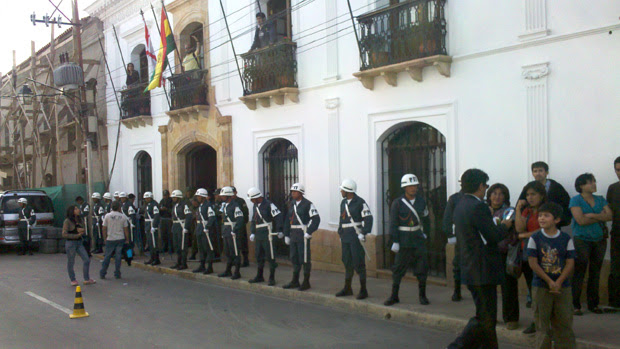 Hotel do Flamengo na Bolivia (Foto: Richard Souza/Globoesporte.com)