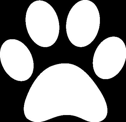 White_paw_print