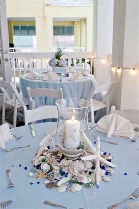 24 exemples pour la table de mariage décoration marine