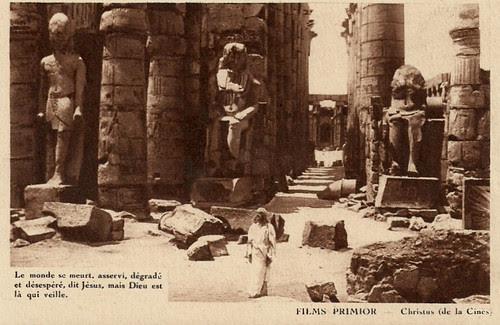 Christus (1916) Jesus among the ruins of the world (Luxor, Egypt)