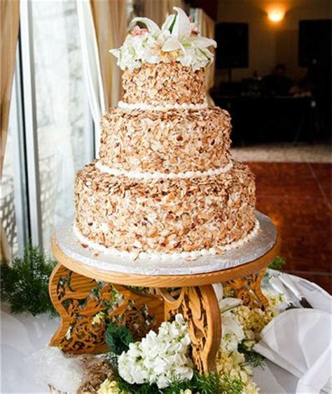 Prantl's burnt almond torte wedding cake  ours will be the