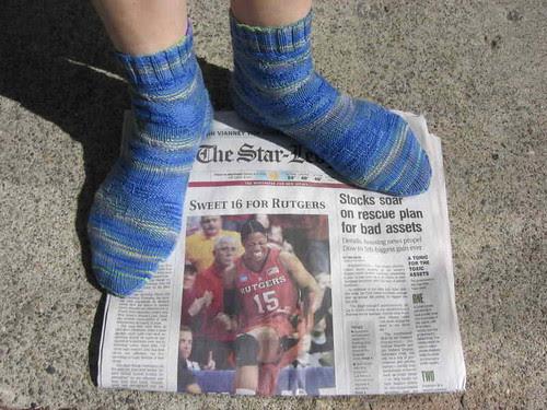Tropical Mer-tini socks
