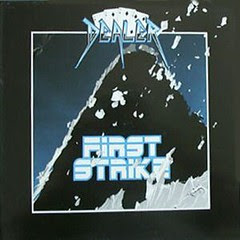 DEALER  - FirstStrike 1987 RARE 80s METAL NWOBHM