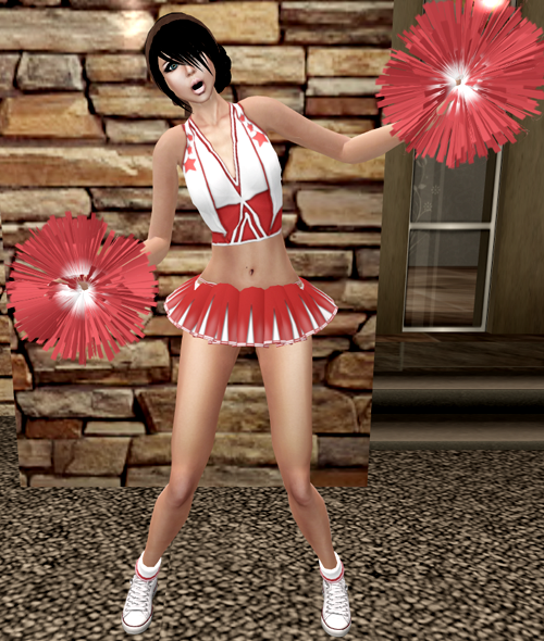 NEW! Reasonable Desires Cheer Leader! ME =)