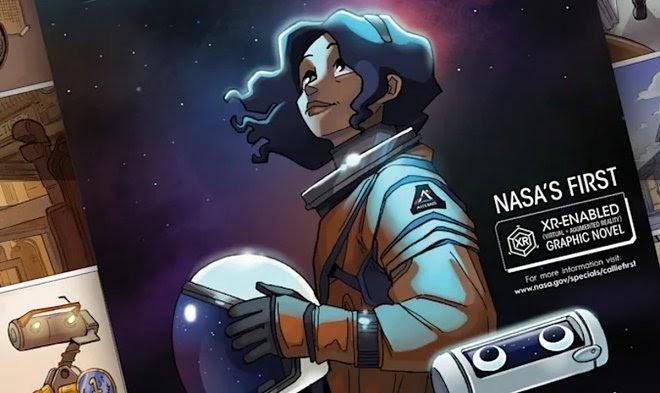 НАСА вербует астронавтов при помощи комикса с дополненной реальностью