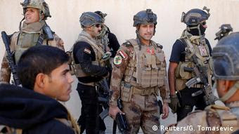 Irak Mossul Irakische Truppen Kampf gegen den IS (Reuters/G. Tomasevic )